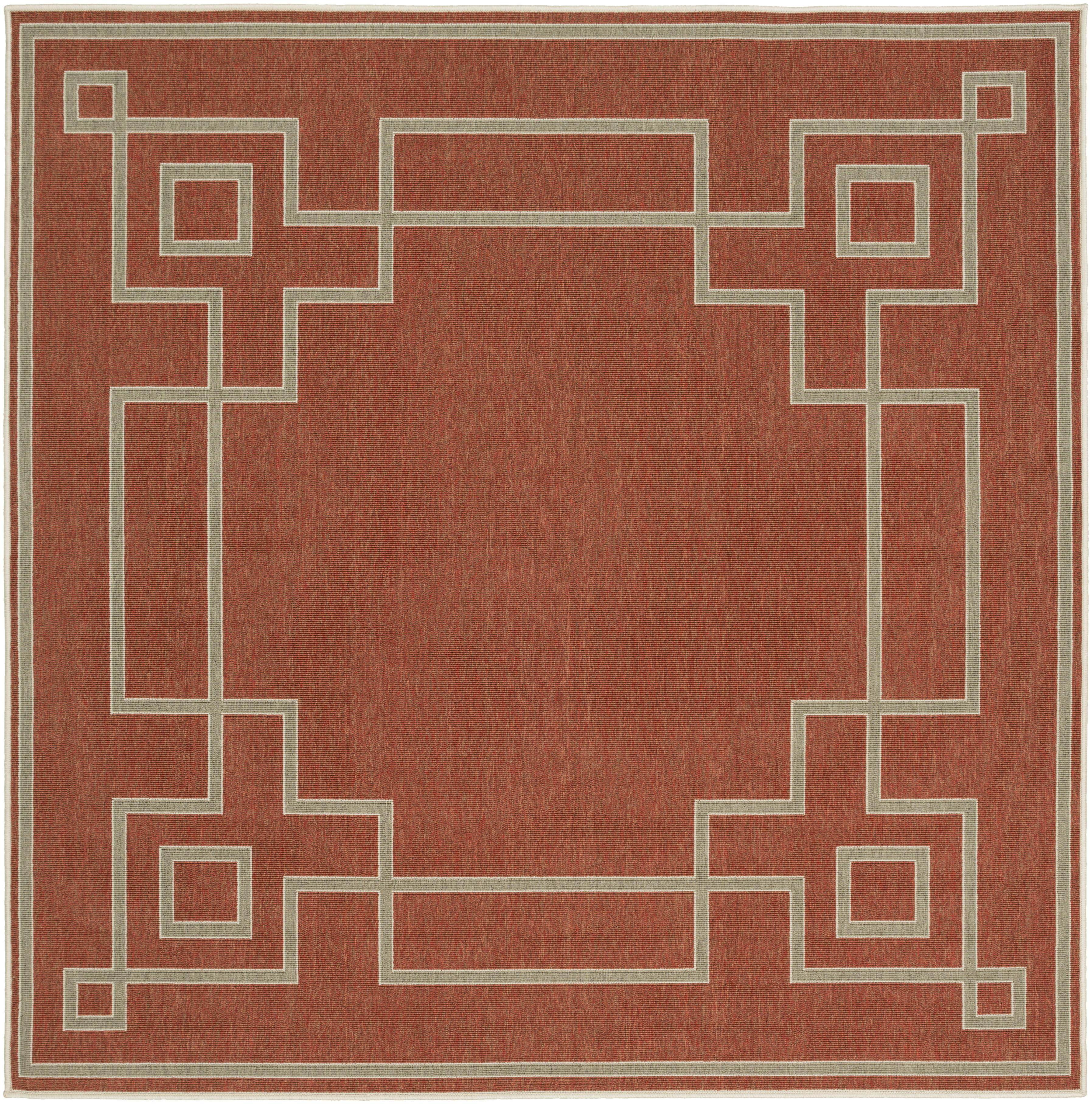 "Surya Rugs Alfresco 7'3"" Square - Item Number: ALF9631-73SQ"