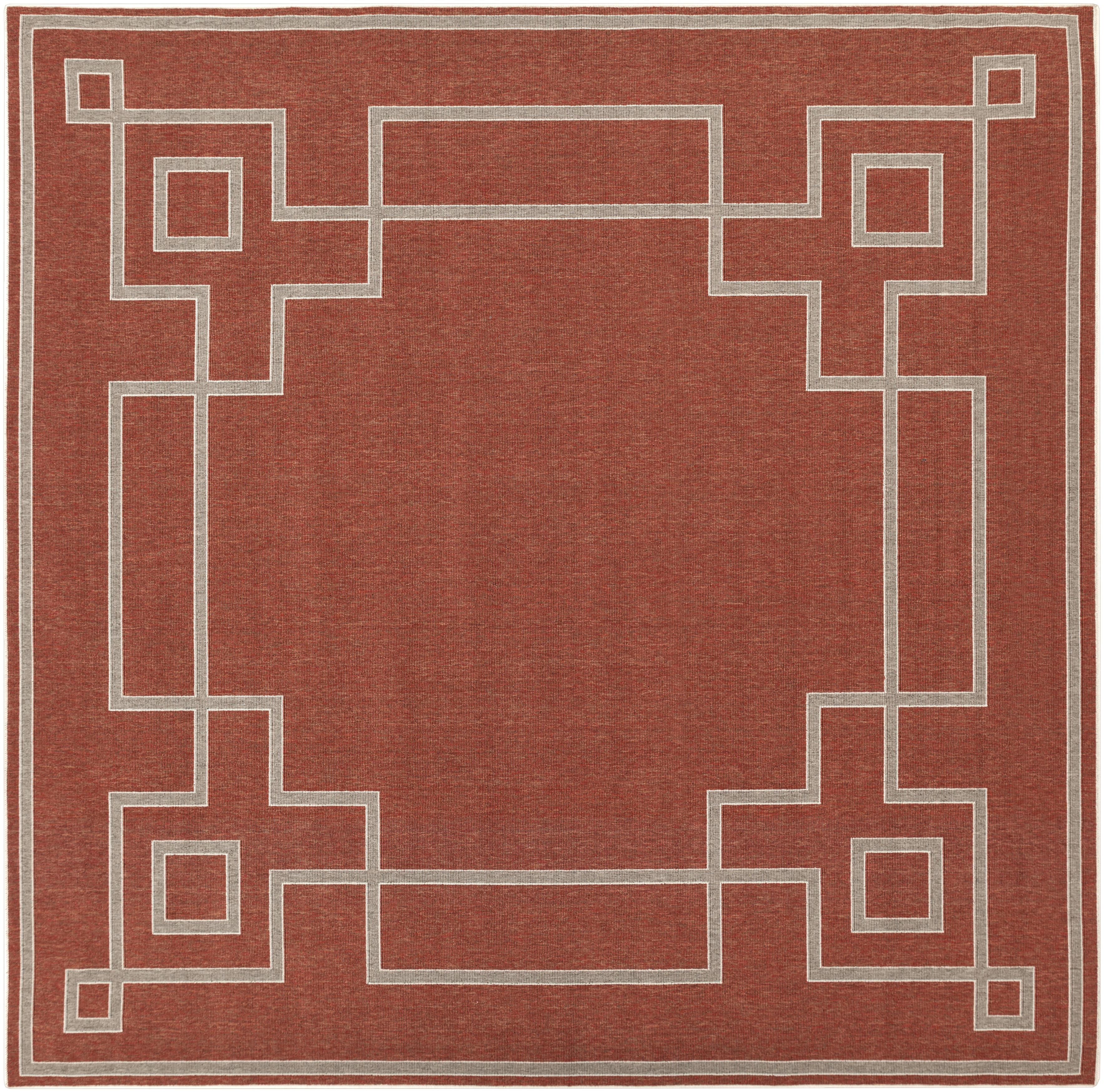 "Surya Alfresco 8'9"" Square - Item Number: ALF9631-89SQ"