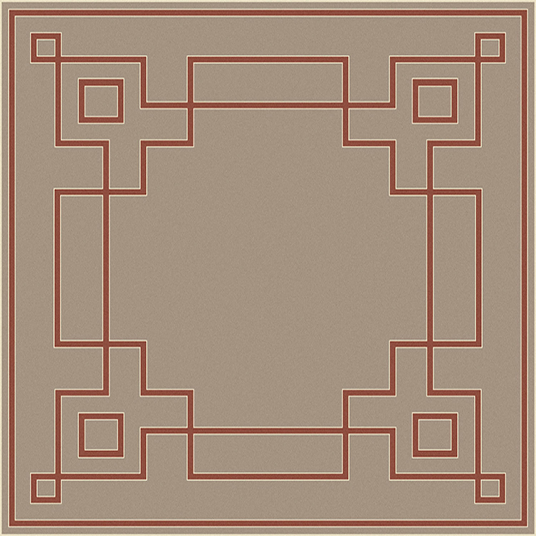 """Surya Alfresco 7'3"""" Square - Item Number: ALF9633-73SQ"""