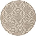 "Surya Alfresco 7'3"" Round - Item Number: ALF9635-73RD"