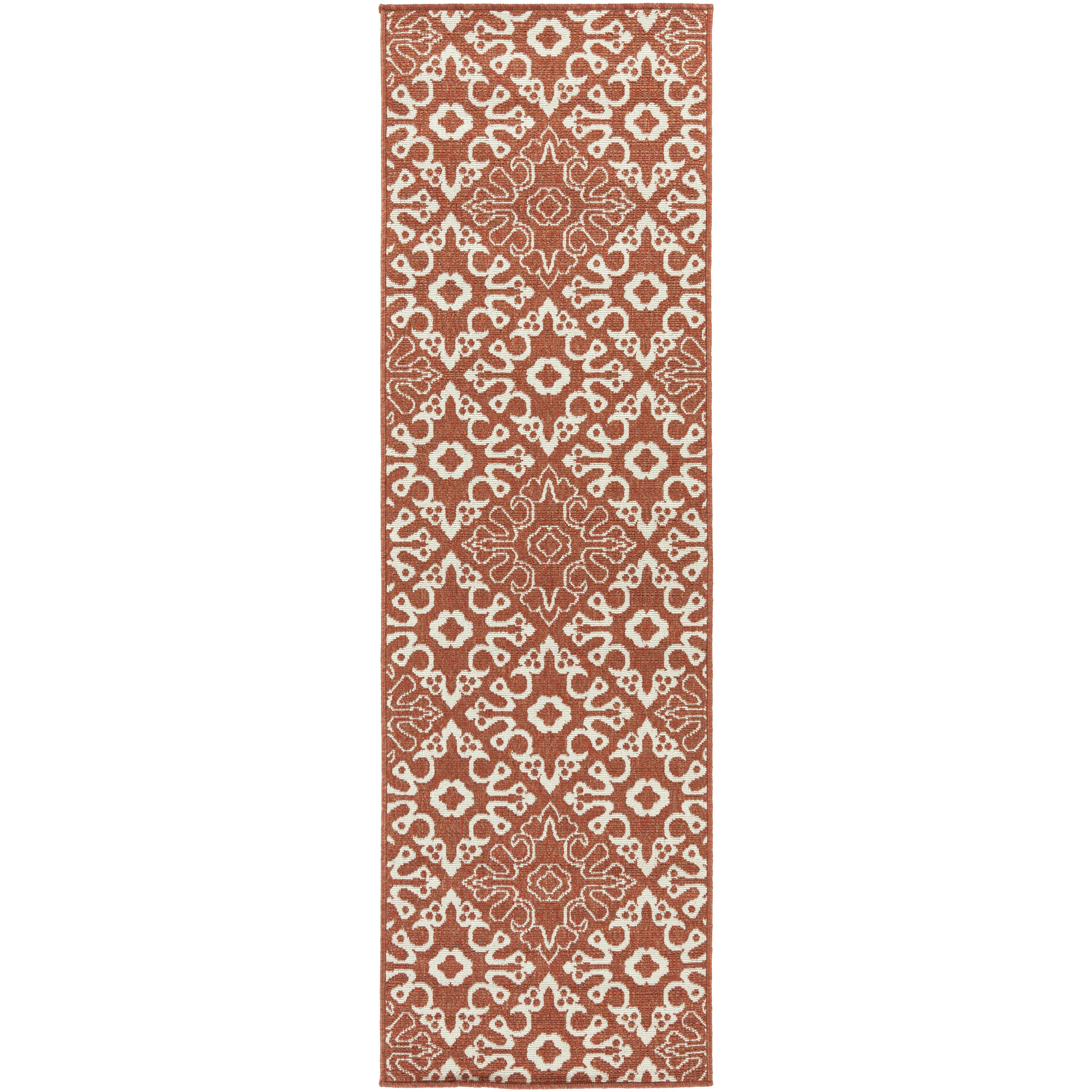 "Surya Rugs Alfresco 2'3"" x 7'9"" - Item Number: ALF9636-2379"