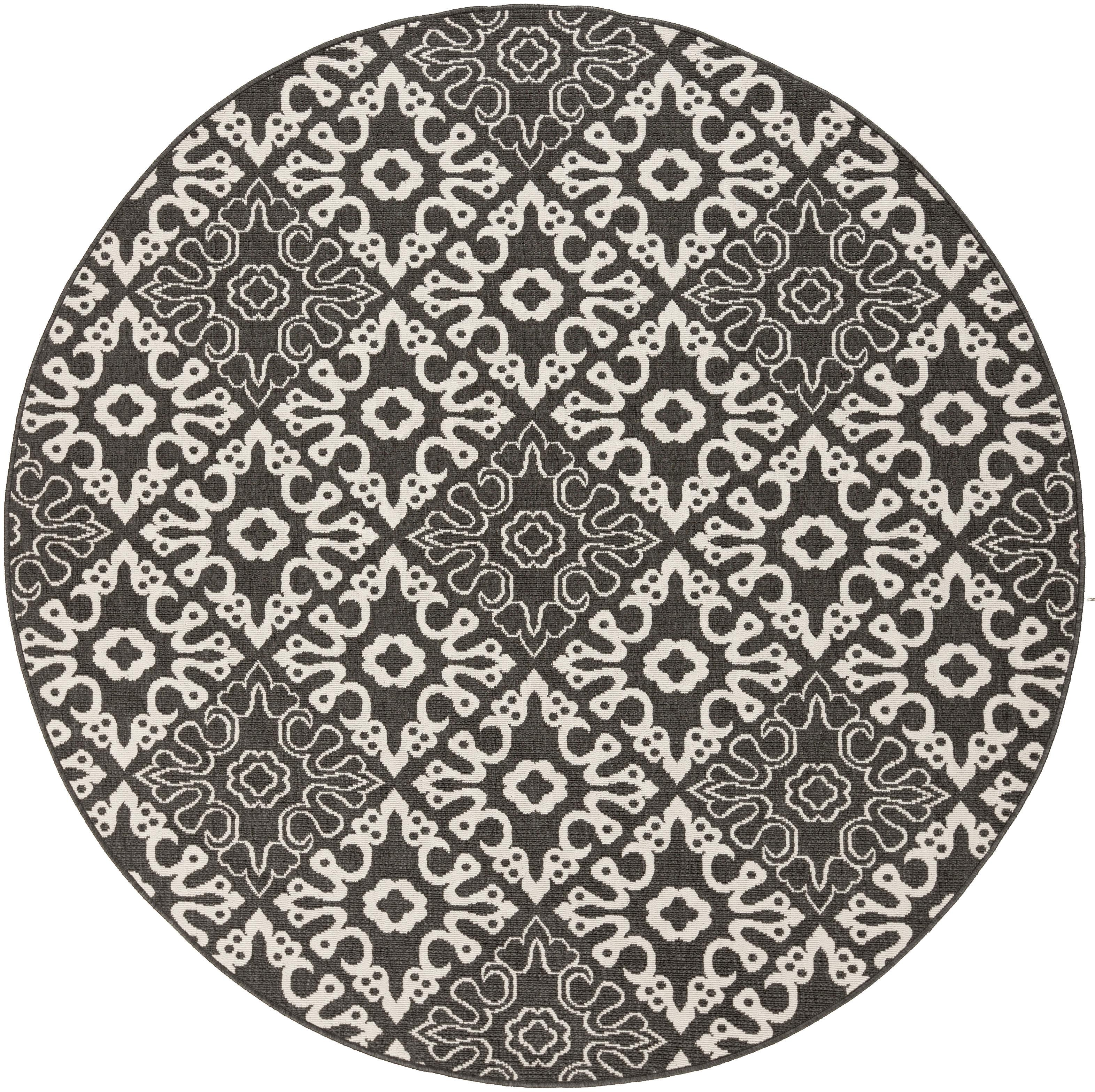 "Alfresco 7'3"" Round by Surya at Suburban Furniture"