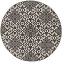 "Surya Rugs Alfresco 7'3"" Round - Item Number: ALF9637-73RD"