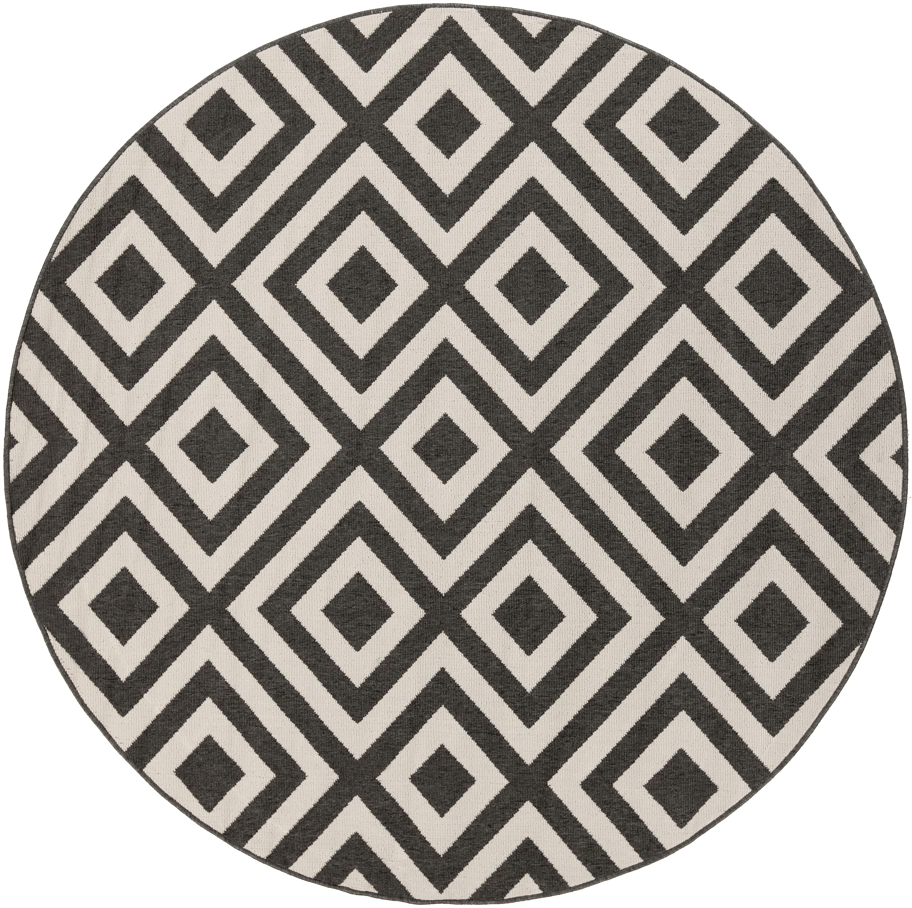 "Surya Rugs Alfresco 7'3"" Round - Item Number: ALF9639-73RD"