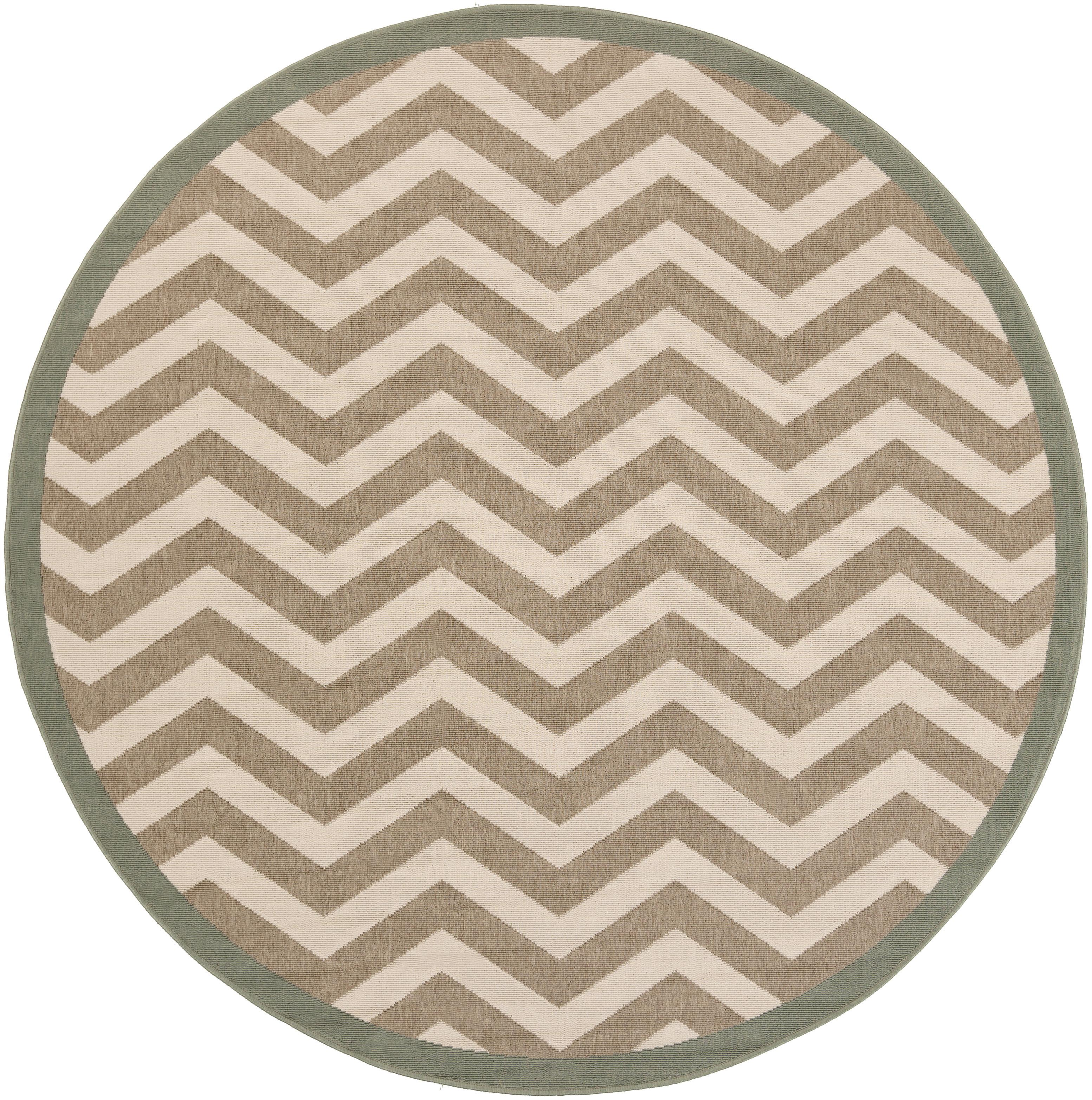 "Surya Alfresco 7'3"" Round - Item Number: ALF9645-73RD"
