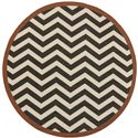 "Surya Rugs Alfresco 7'3"" Round - Item Number: ALF9646-73RD"