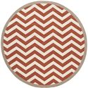 "Surya Rugs Alfresco 7'3"" Round - Item Number: ALF9647-73RD"