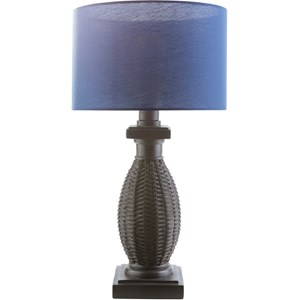 Black Coastal Table Lamp