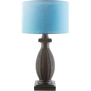 Surya Amani Black Coastal Table Lamp