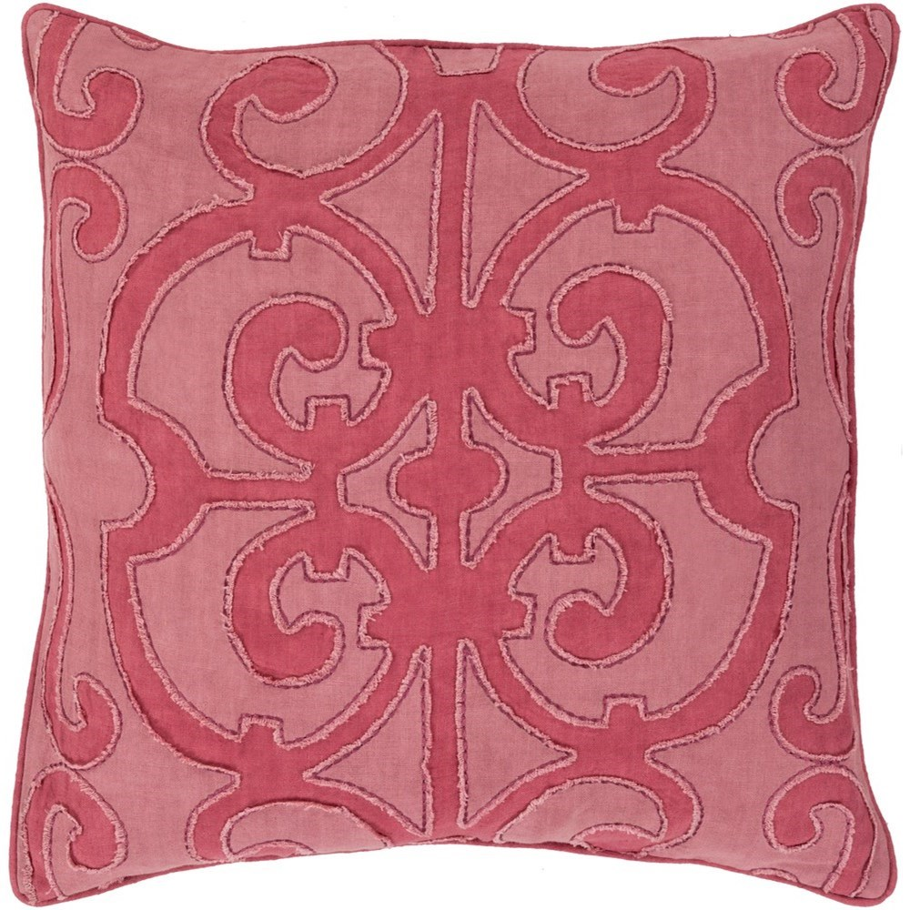 Amelia 22 x 22 x 5 Down Throw Pillow by Ruby-Gordon Accents at Ruby Gordon Home