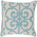 Surya Amelia 18 x 18 x 4 Down Throw Pillow - Item Number: AL002-1818D