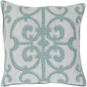 Surya Amelia 18 x 18 x 4 Down Throw Pillow - Item Number: AL003-1818D