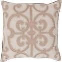 Surya Amelia 18 x 18 x 4 Down Throw Pillow - Item Number: AL005-1818D