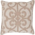 Surya Amelia 20 x 20 x 4 Down Throw Pillow - Item Number: AL005-2020D