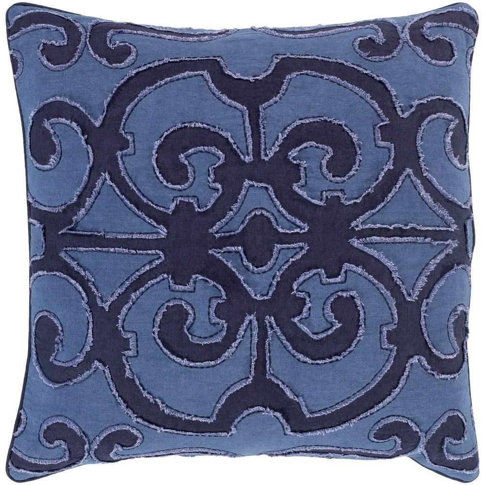 Amelia 18 x 18 x 4 Down Throw Pillow by Ruby-Gordon Accents at Ruby Gordon Home