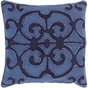 Surya Amelia 18 x 18 x 4 Down Throw Pillow - Item Number: AL006-1818D