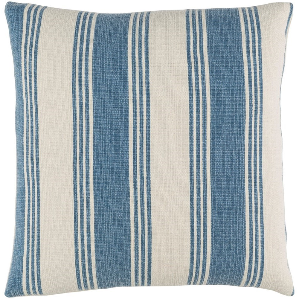 Anchor Bay 18 x 18 x 4 Polyester Throw Pillow by Ruby-Gordon Accents at Ruby Gordon Home