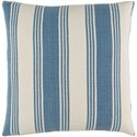 Surya Anchor Bay 22 x 22 x 5 Down Throw Pillow - Item Number: ACB001-2222D