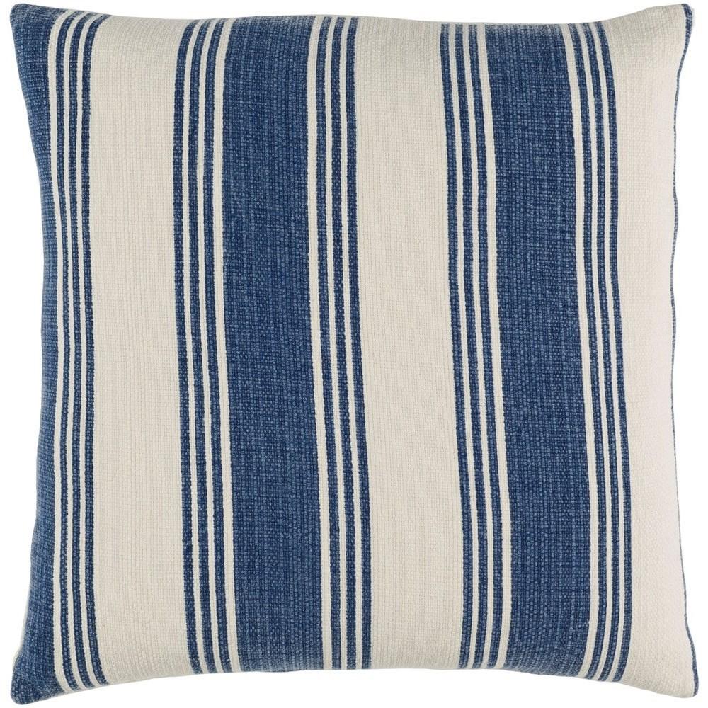 Anchor Bay 20 x 20 x 4 Down Throw Pillow by Ruby-Gordon Accents at Ruby Gordon Home