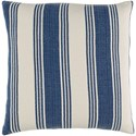 Surya Anchor Bay 22 x 22 x 5 Down Throw Pillow - Item Number: ACB004-2222D