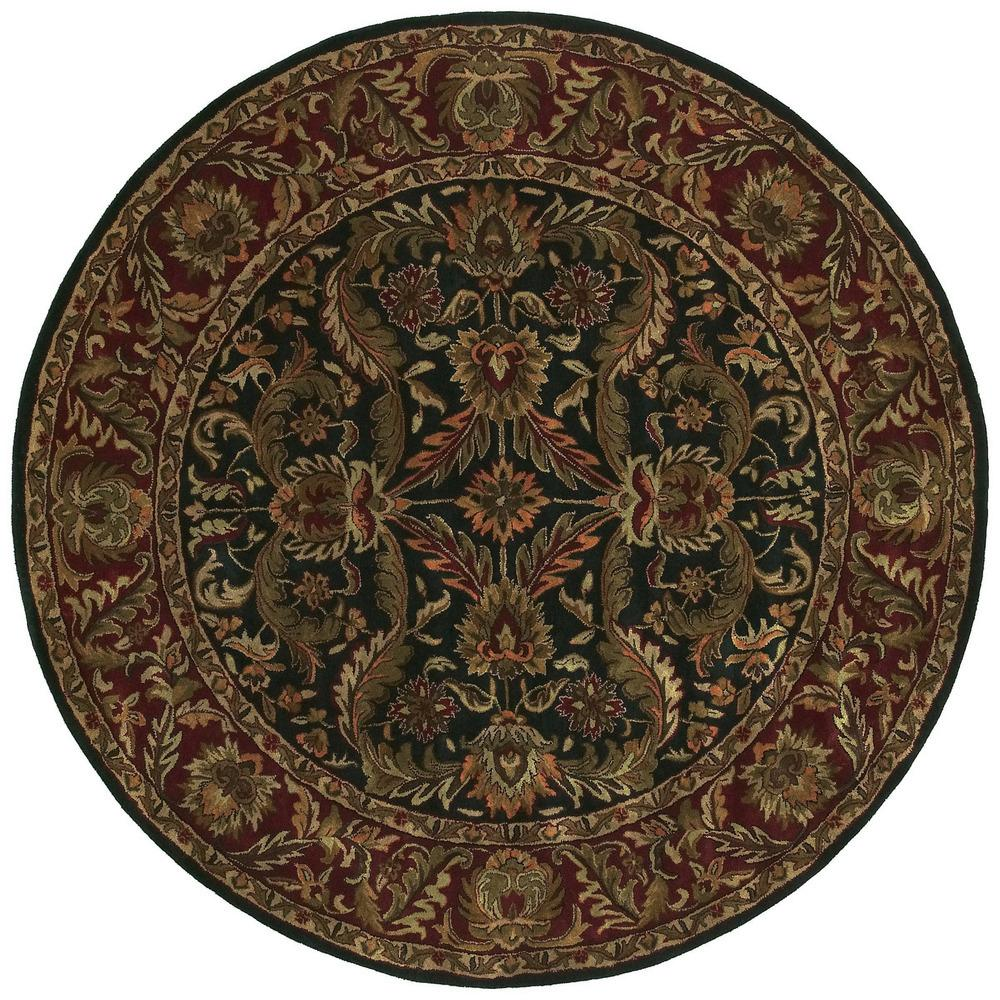 Surya Ancient Treasures 8' Round - Item Number: A103-8RD
