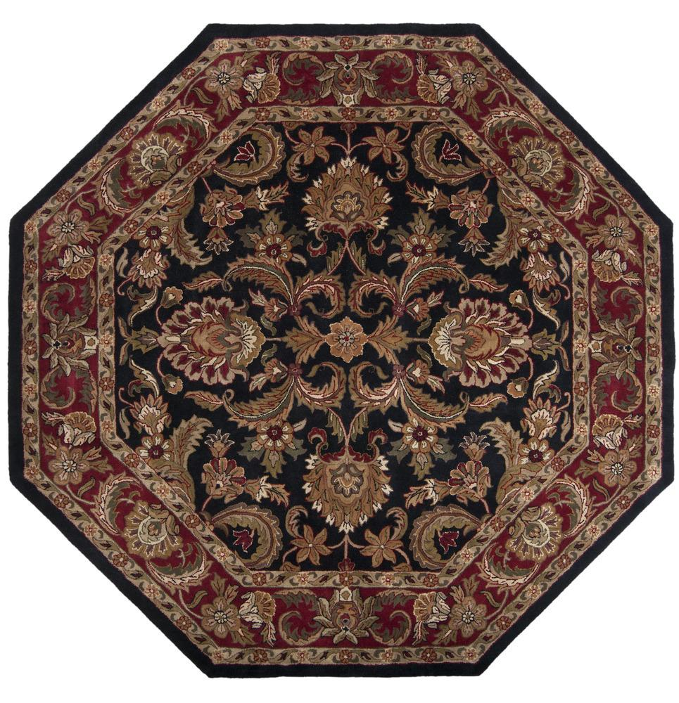 Surya Rugs Ancient Treasures 8' Octagon - Item Number: A108-8OCT