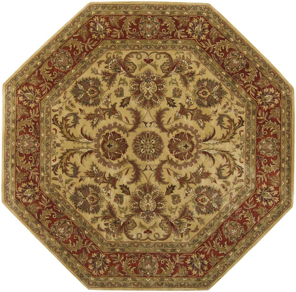 Surya Ancient Treasures 8' Octagon - Item Number: A111-8OCT