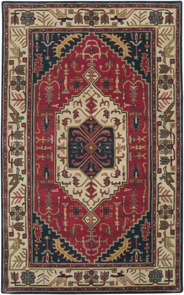 Surya Rugs Ancient Treasures 5' x 8' - Item Number: A134-58