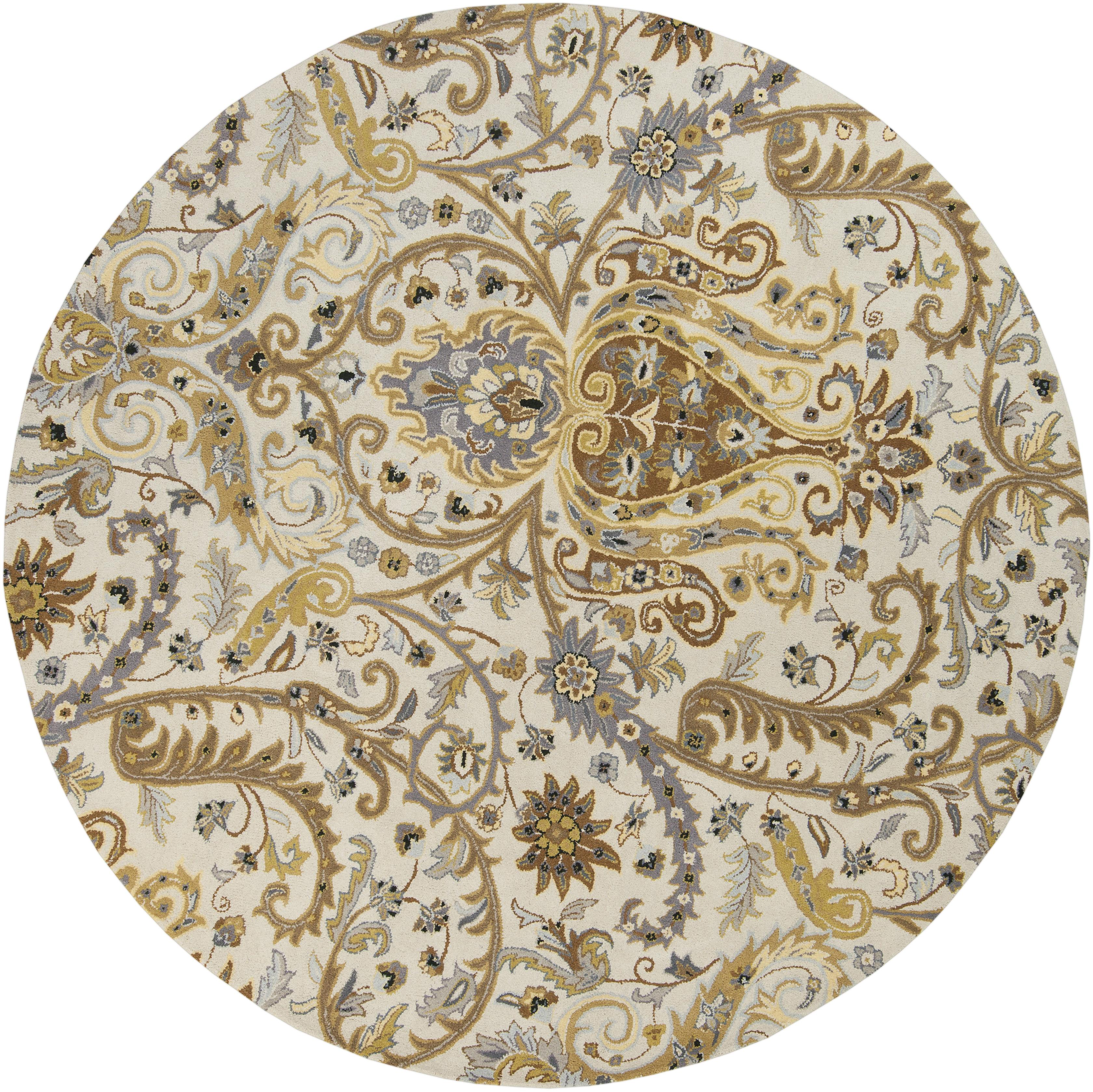 Surya Ancient Treasures 8' Round - Item Number: A165-8RD