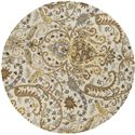 Surya Rugs Ancient Treasures 8' Round - Item Number: A165-8RD