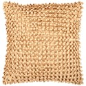Surya Andrew 18 x 18 x 4 Down Throw Pillow - Item Number: BB041-1818D