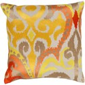 Surya Ara 18 x 18 x 4 Down Throw Pillow - Item Number: AR072-1818D