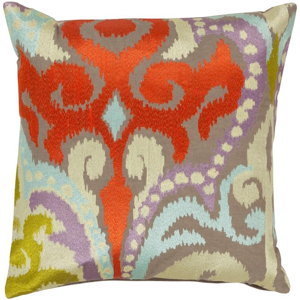 Ara 18 x 18 x 4 Down Throw Pillow by 9596 at Becker Furniture