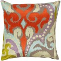 Surya Ara 20 x 20 x 4 Down Throw Pillow - Item Number: AR073-2020D