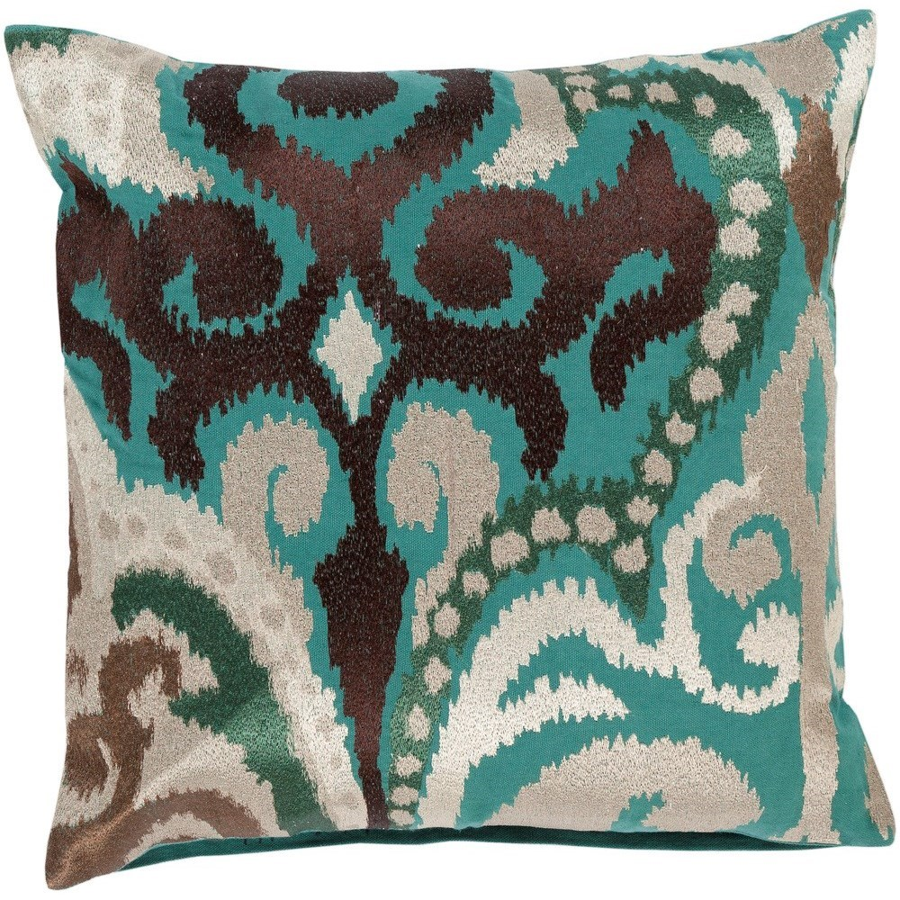 Ara 20 x 20 x 4 Down Throw Pillow by 9596 at Becker Furniture