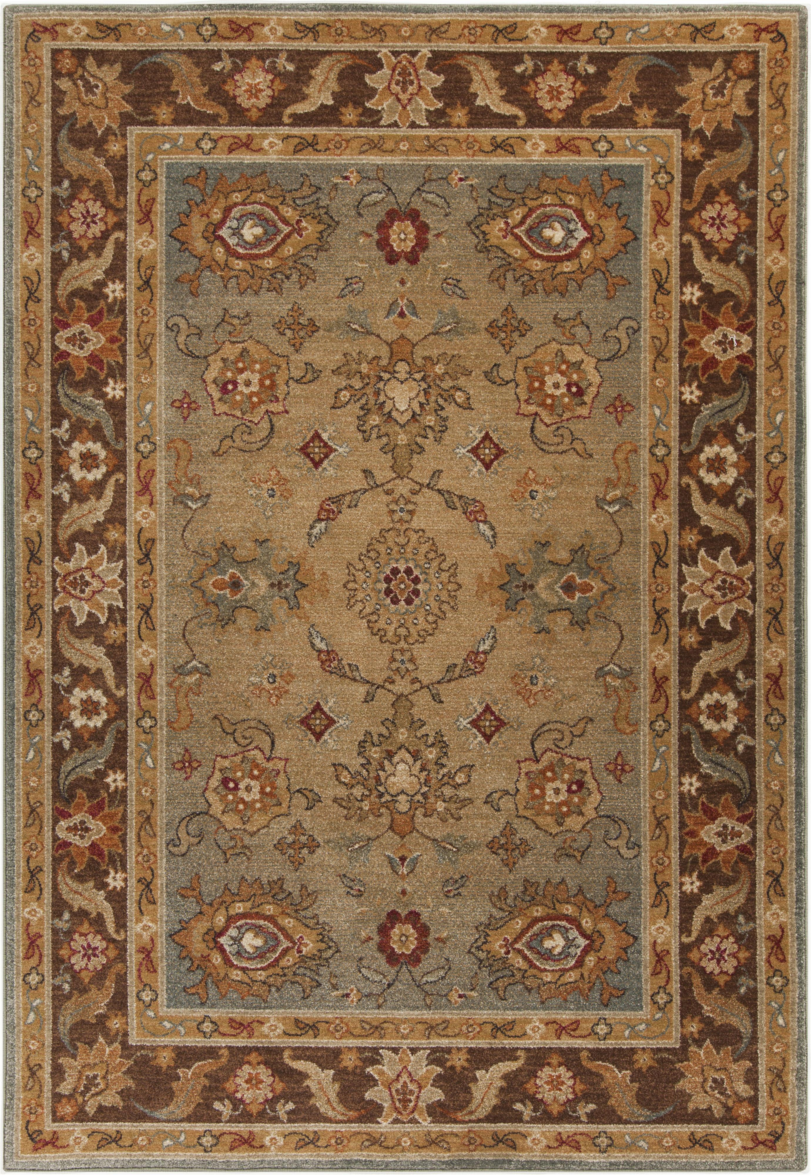 "Surya Arabesque 2'7"" x 4'7"" - Item Number: ABS3011-2747"