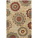 "Surya Rugs Arabesque 2'7"" x 4'7"" - Item Number: ABS3015-2747"