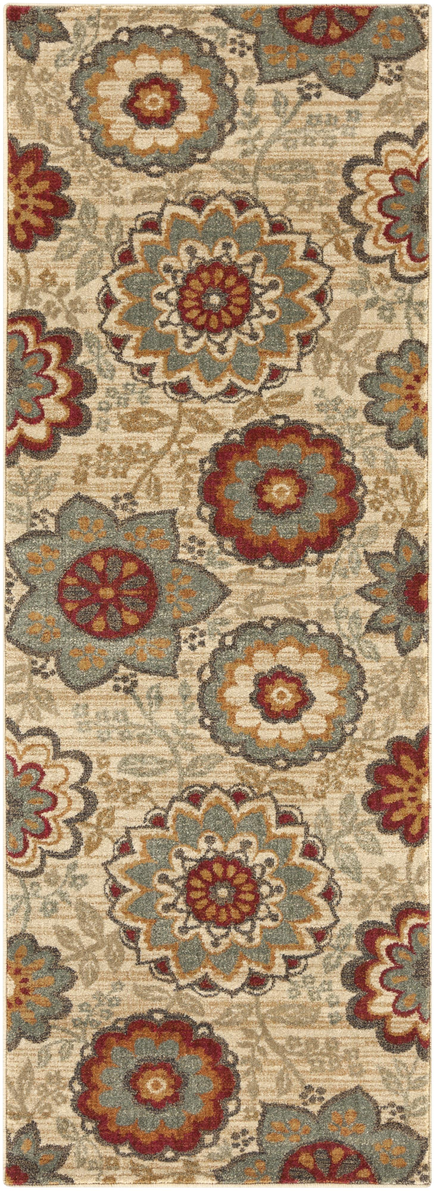 "Surya Rugs Arabesque 2'7"" x 7'3"" - Item Number: ABS3015-2773"