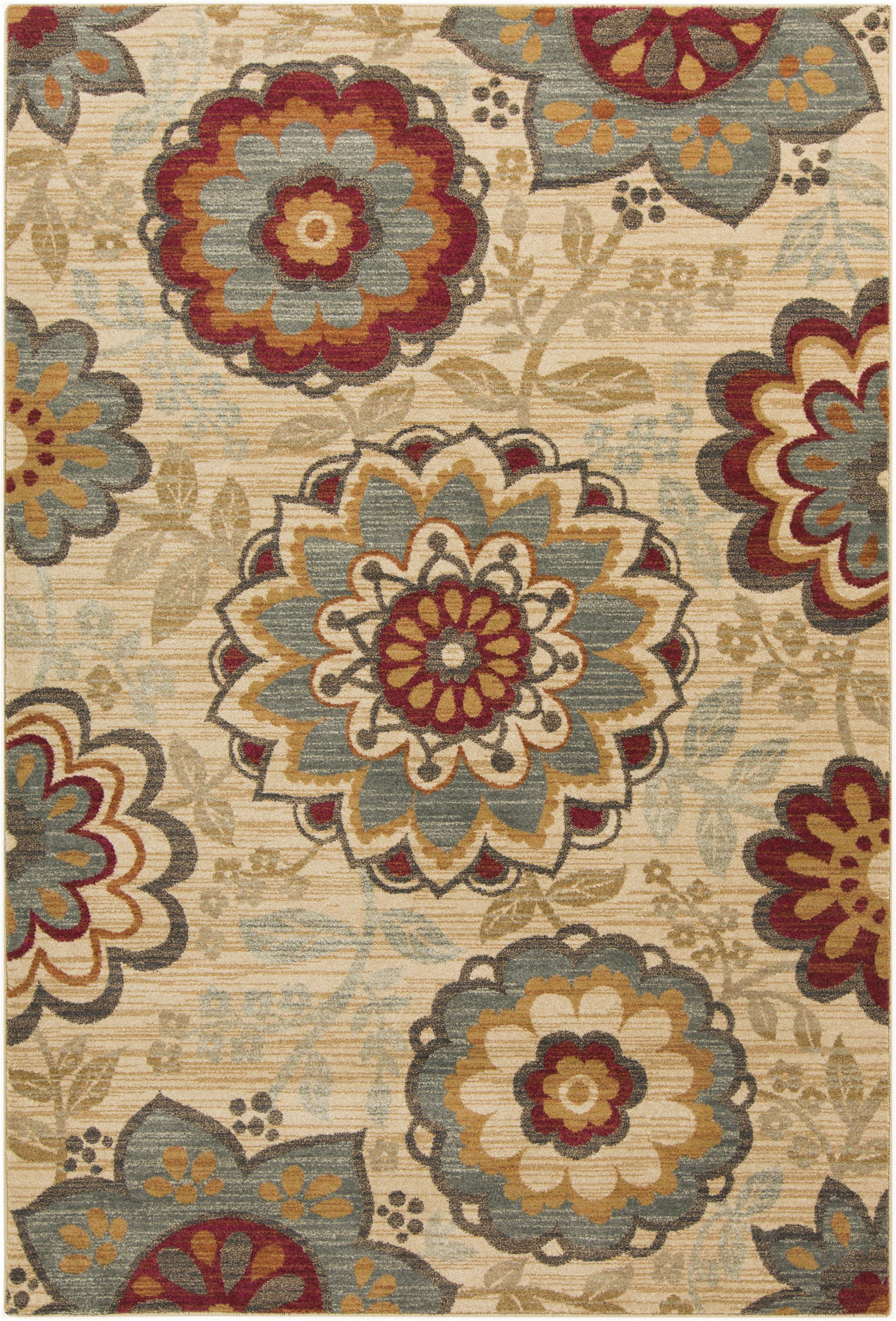 "Surya Arabesque 5'3"" x 7'3"" - Item Number: ABS3015-5373"