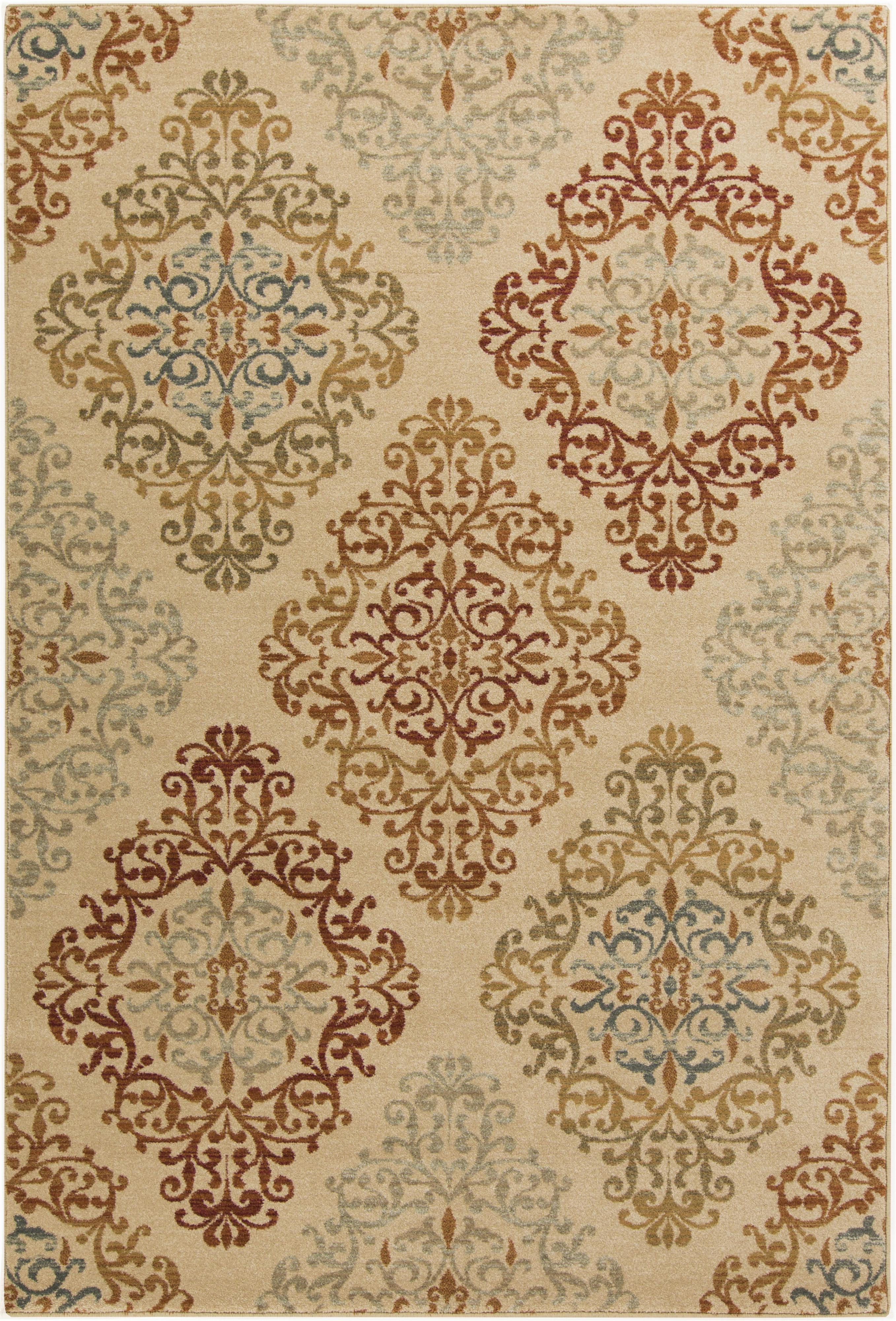 "Surya Arabesque 5'3"" x 7'3"" - Item Number: ABS3018-5373"