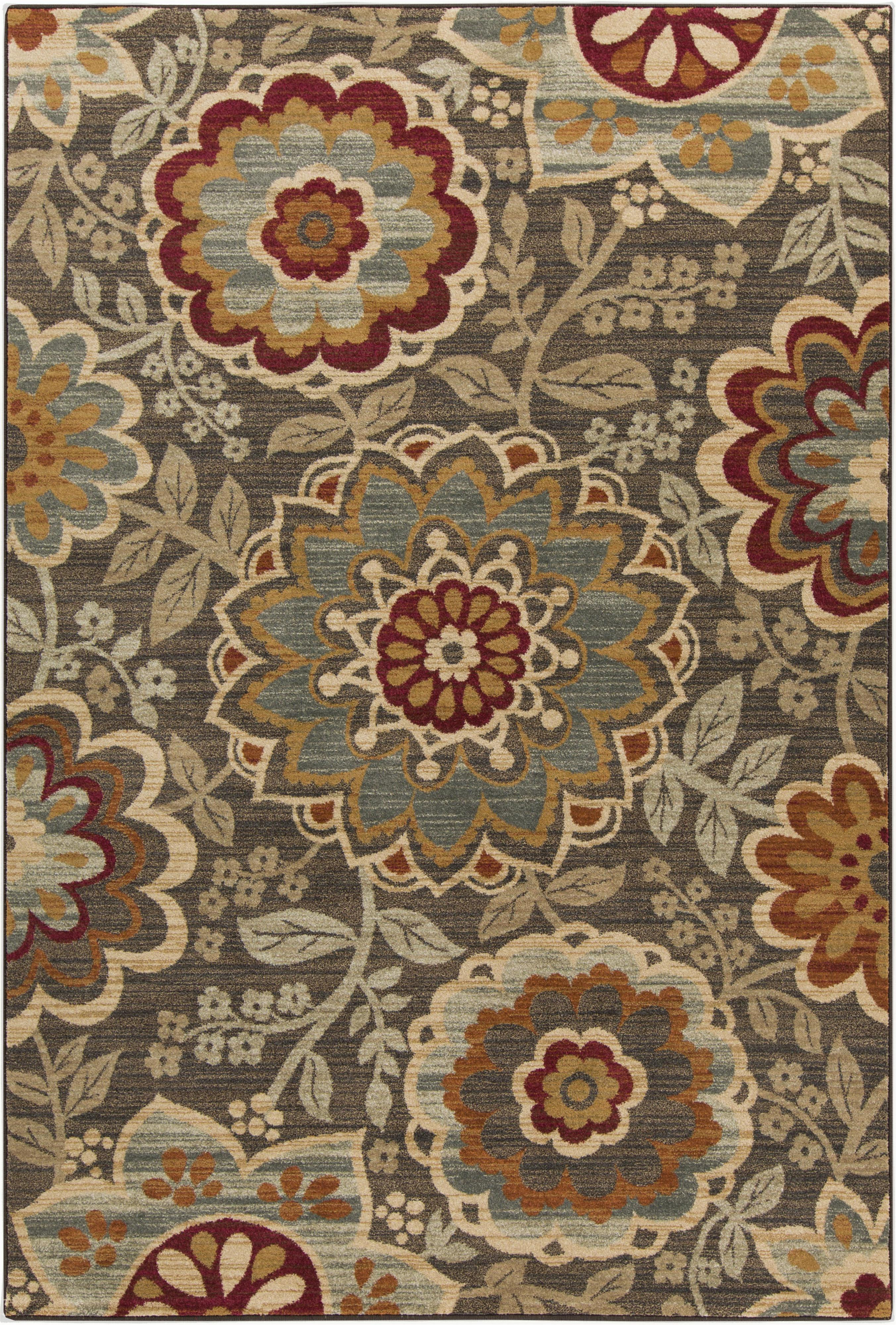 "Surya Arabesque 5'3"" x 7'3"" - Item Number: ABS3020-5373"