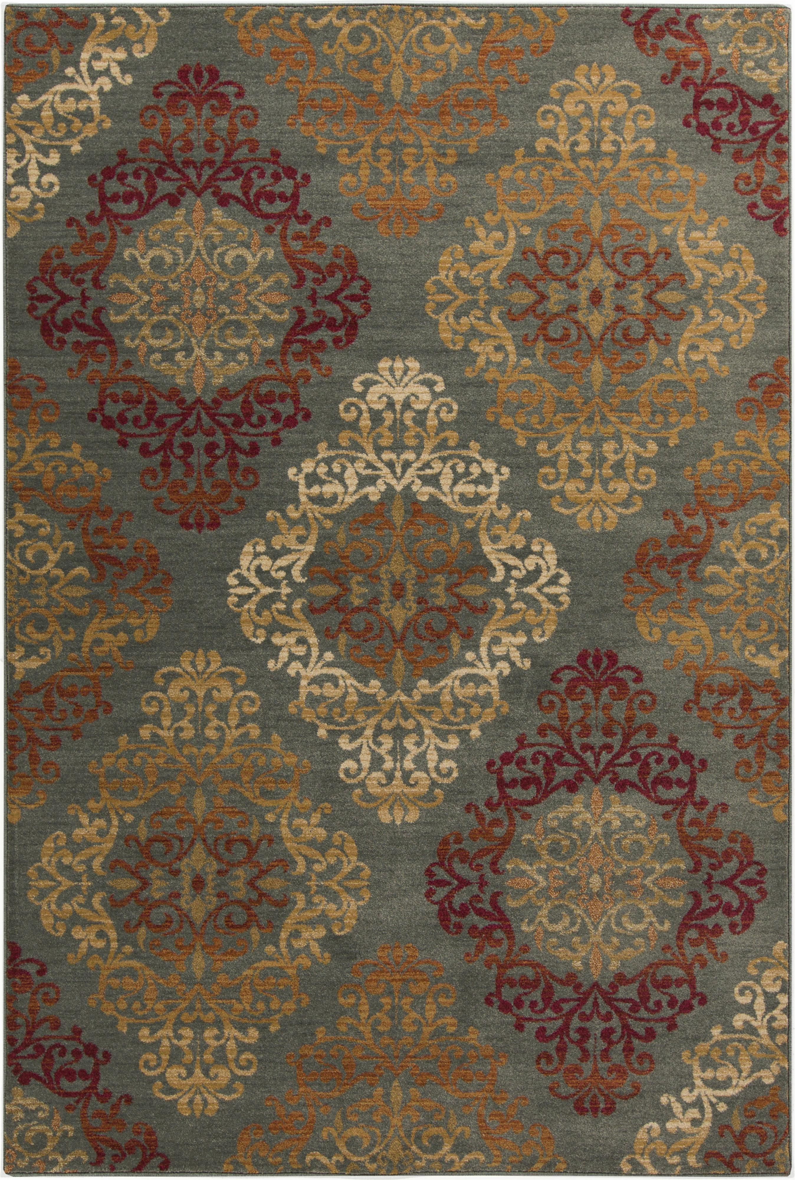 "Surya Rugs Arabesque 1'10"" x 2'11"" - Item Number: ABS3022-110211"