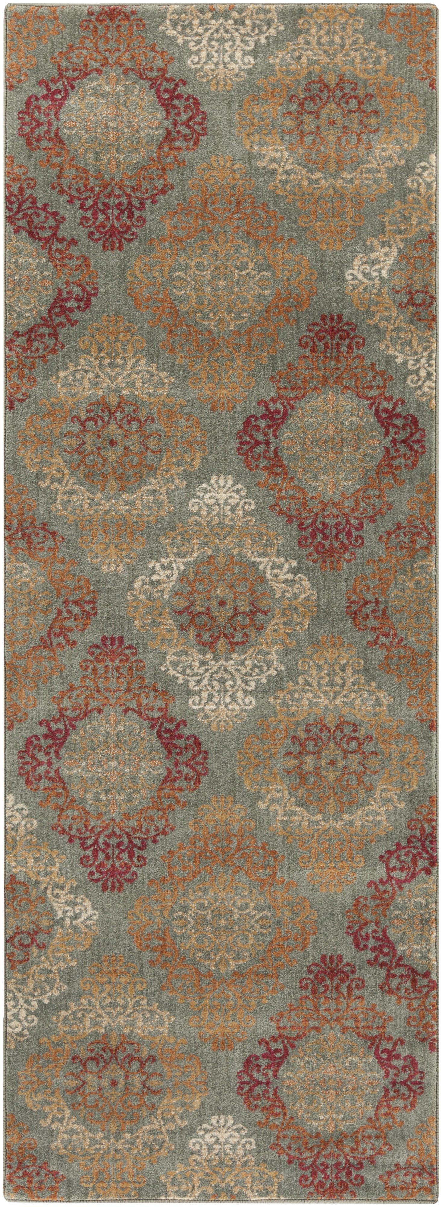 "Surya Rugs Arabesque 2'7"" x 7'3"" - Item Number: ABS3022-2773"