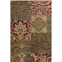 "Surya Arabesque 1'10"" x 2'11"" - Item Number: ABS3025-110211"