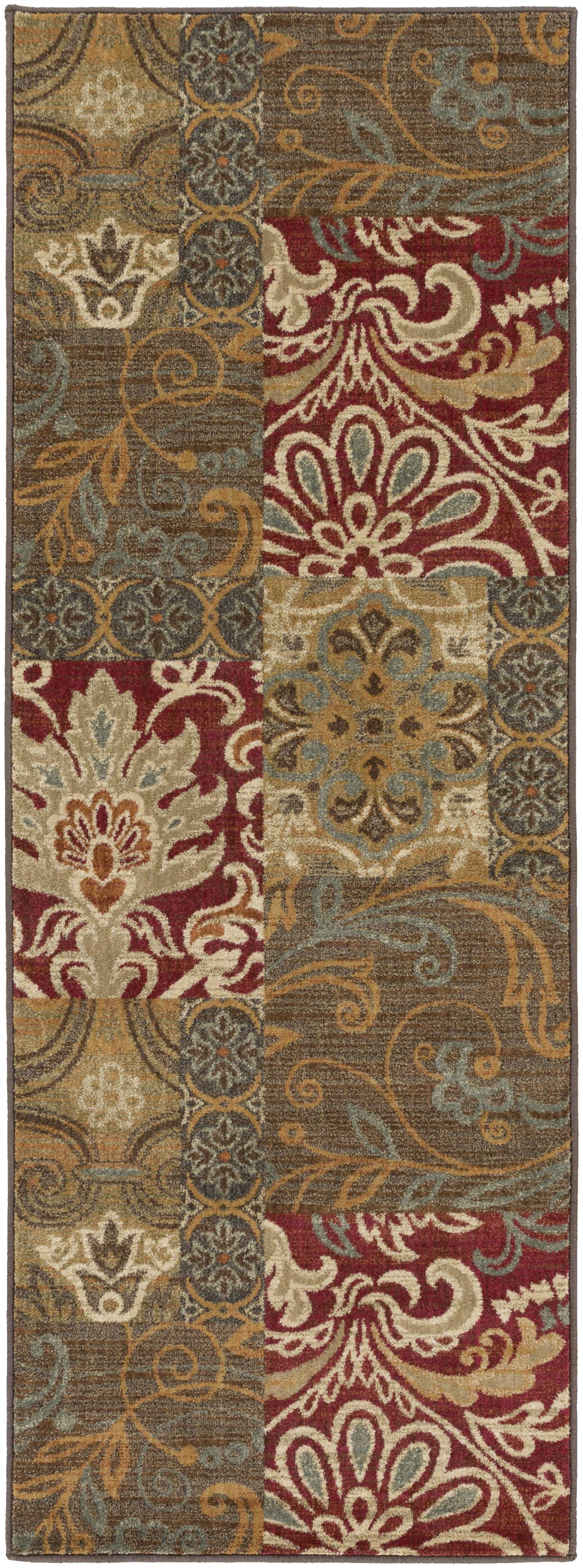 "Surya Arabesque 2'7"" x 7'3"" - Item Number: ABS3025-2773"