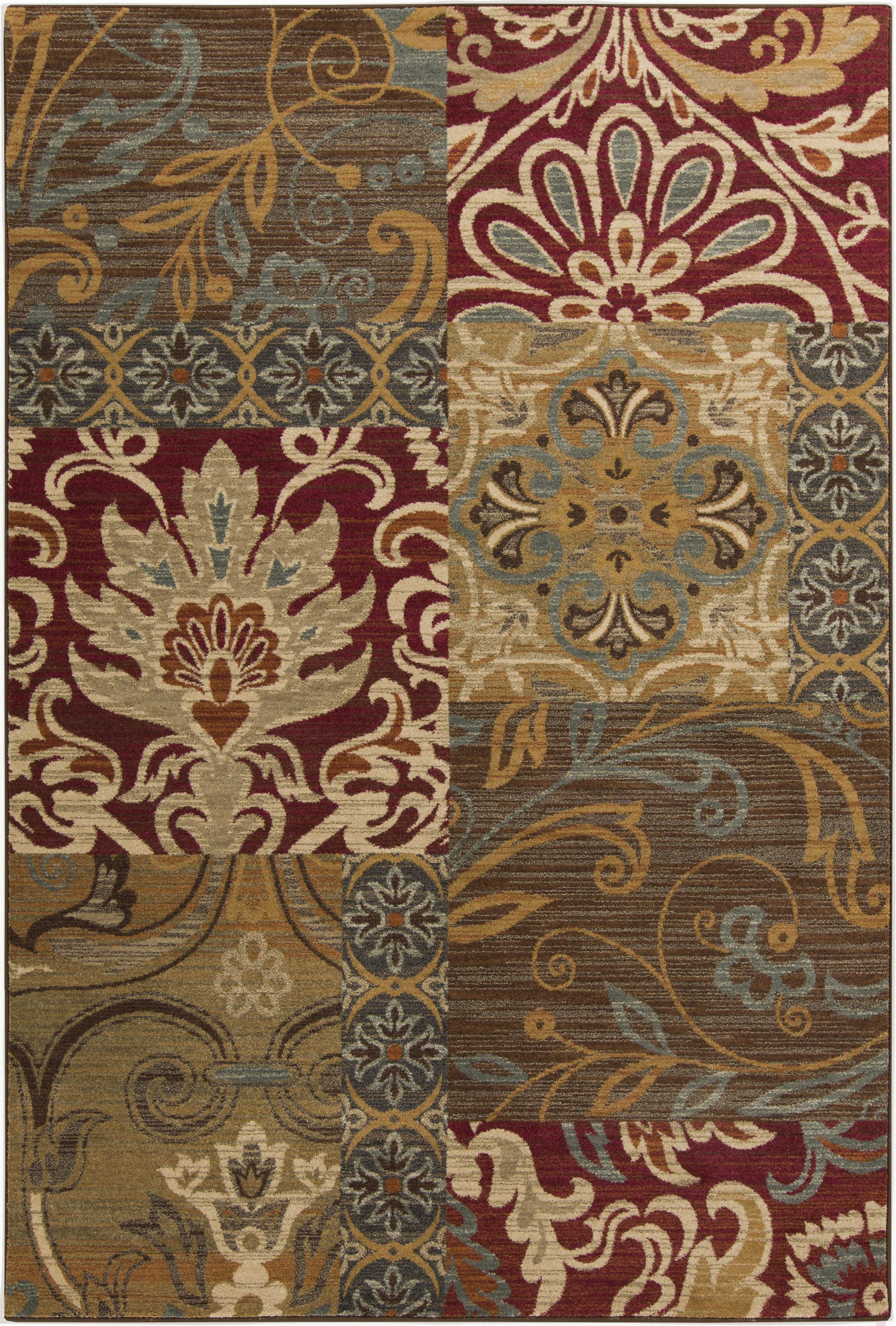 "Surya Arabesque 5'3"" x 7'3"" - Item Number: ABS3025-5373"