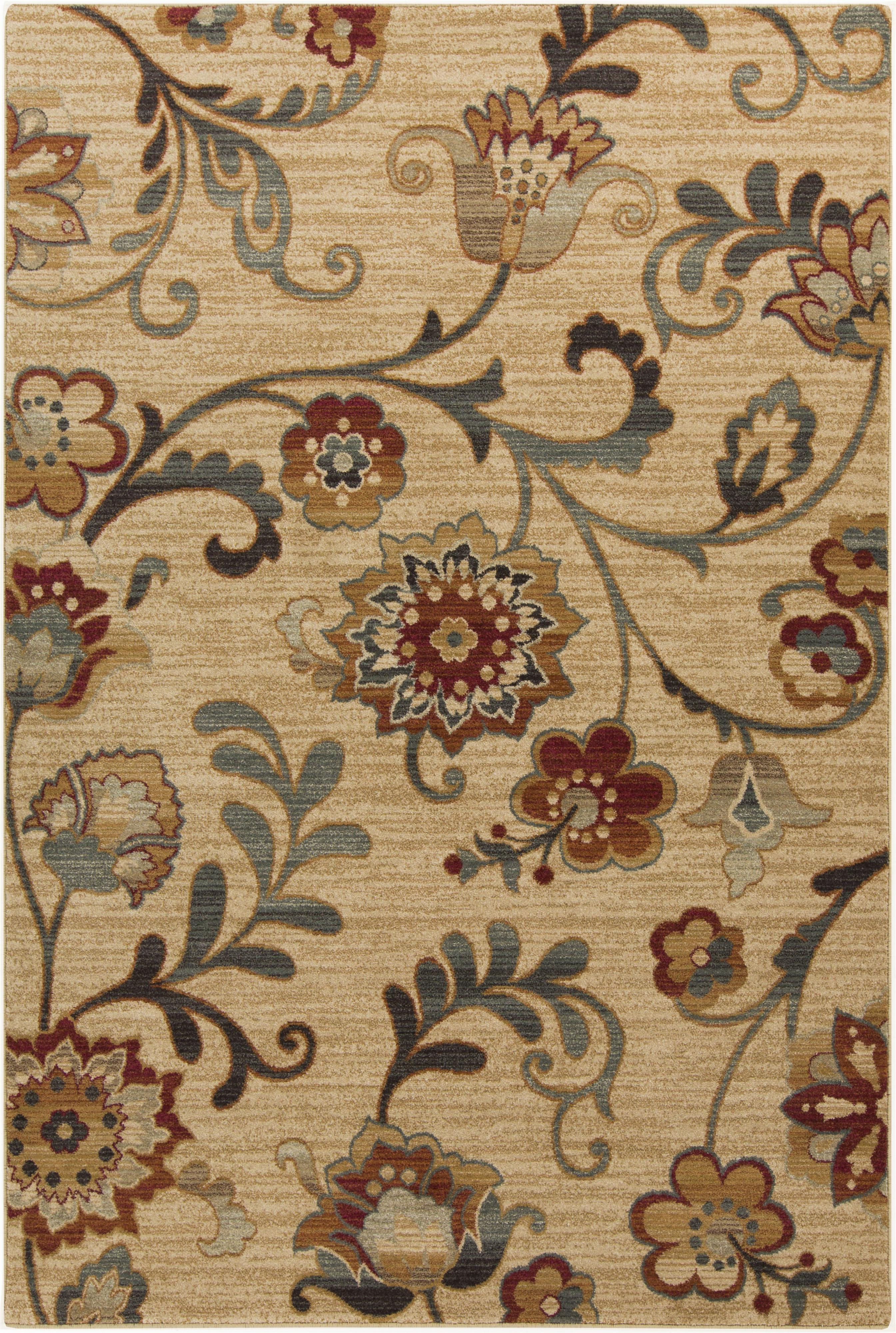 "Surya Arabesque 1'10"" x 2'11"" - Item Number: ABS3027-110211"