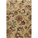 "Surya Arabesque 5'3"" x 7'3"" - Item Number: ABS3027-5373"