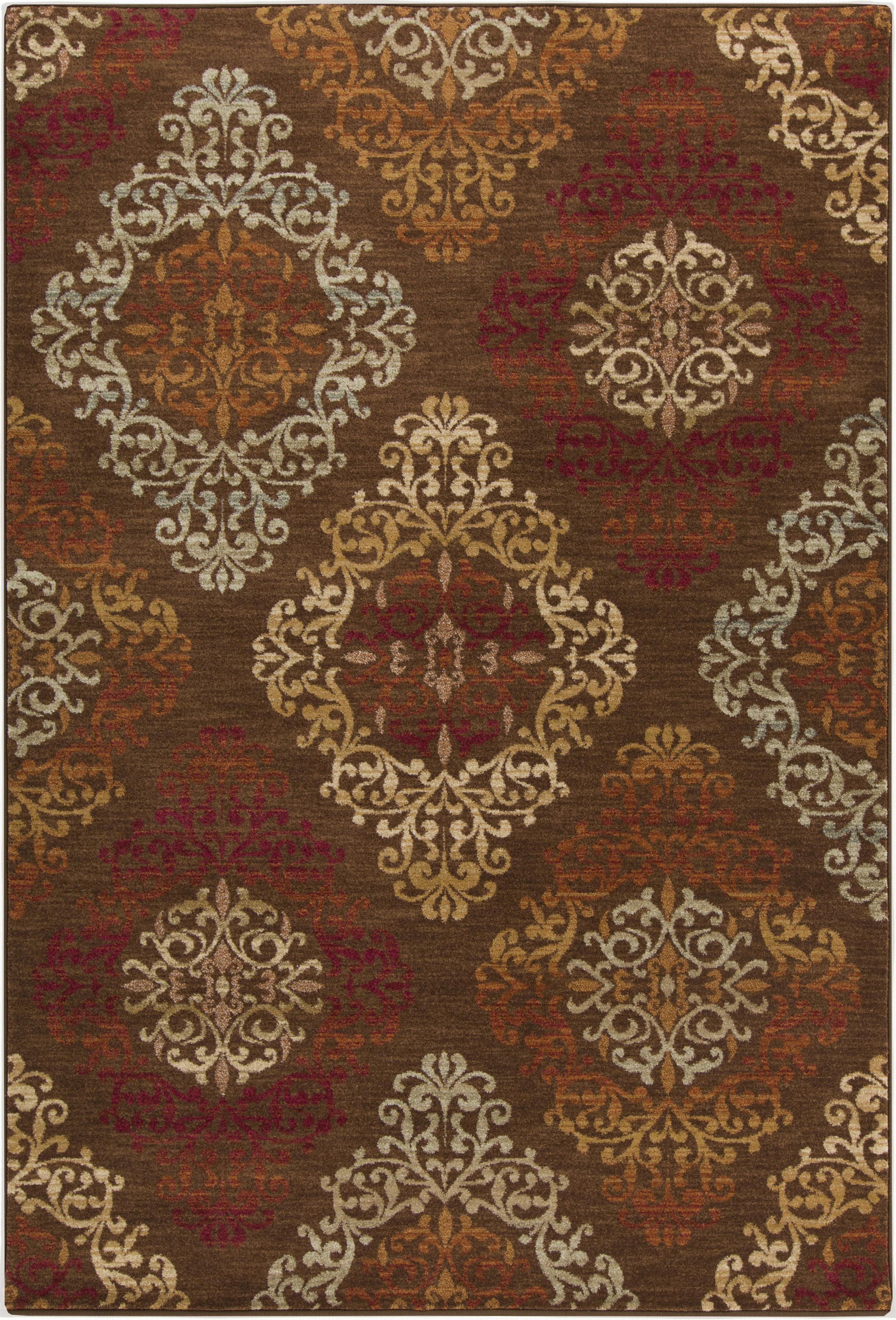 "Surya Arabesque 5'3"" x 7'3"" - Item Number: ABS3028-5373"
