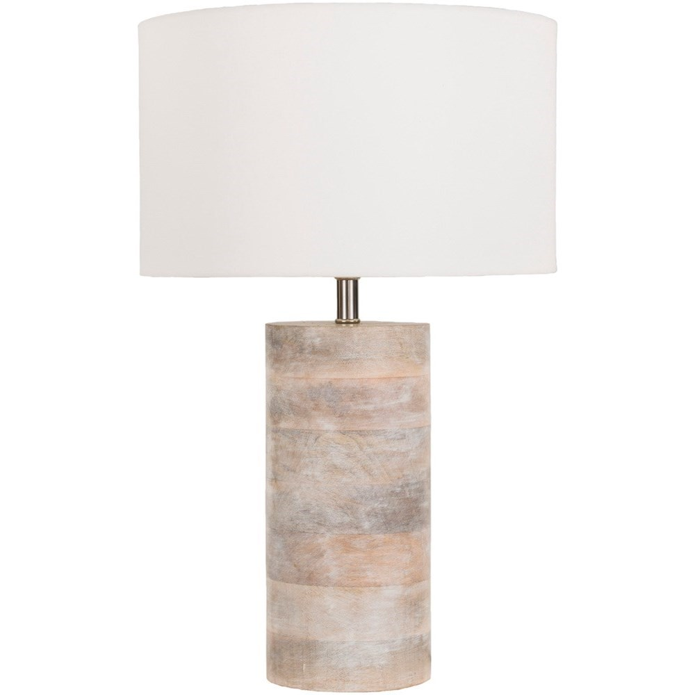 Surya Arbor Natural Finish Contemporary Table Lamp - Item Number: ARR970-TBL